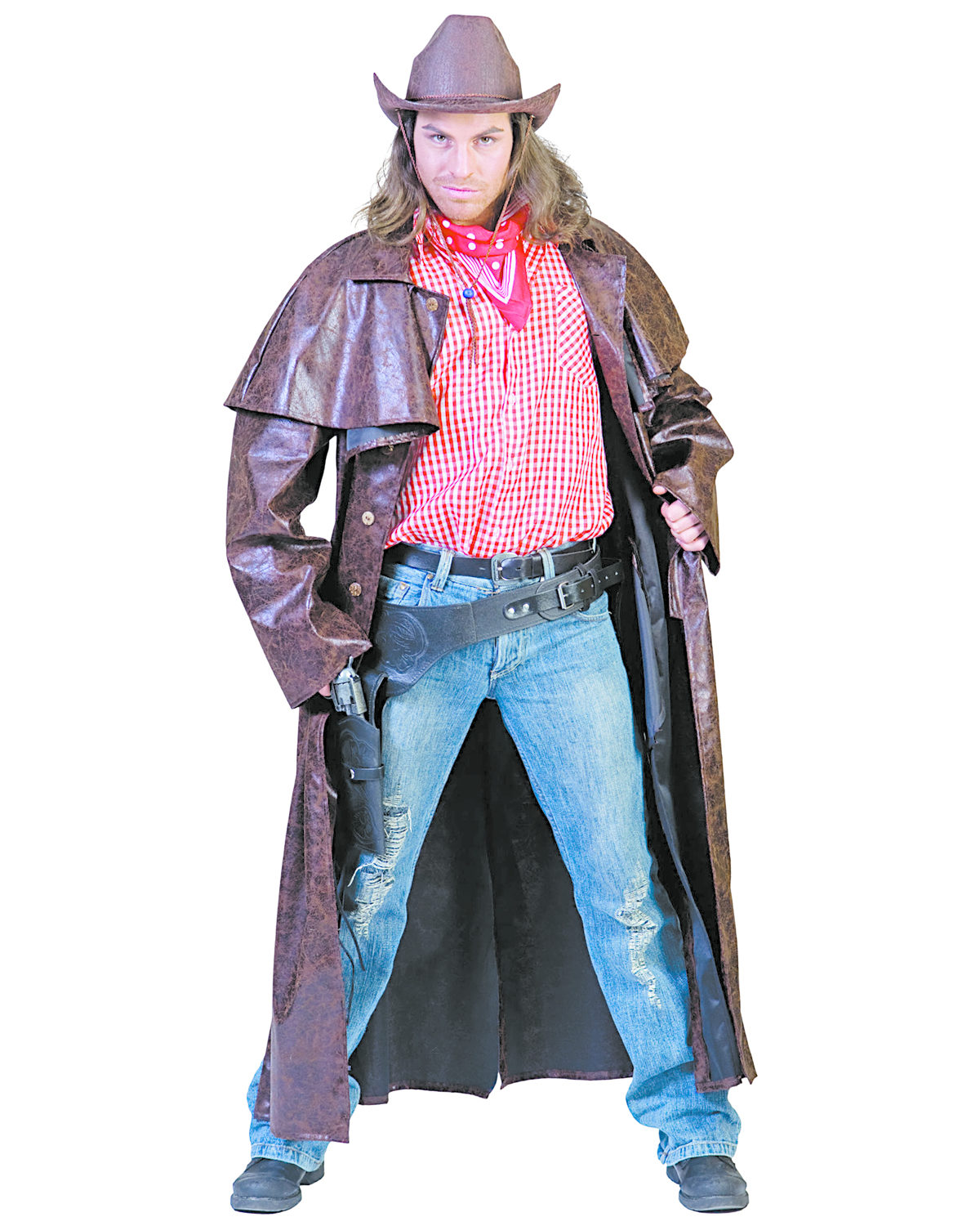 Cowboy Costume Western Duster Coat