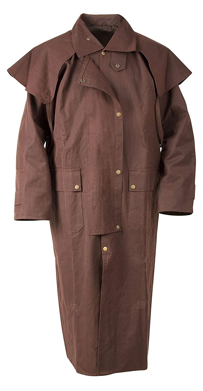 Long Waterproof Duster Coat